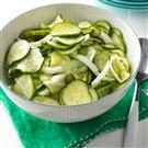 Sweet-Tart Cucumber Salad