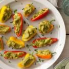 Garbanzo-Stuffed Mini Peppers