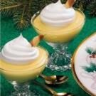 Holiday Eggnog Pudding