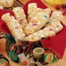 Festive Biscuit Strips