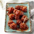 Barbecue Glazed Meatballs
