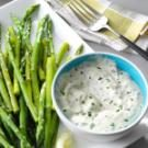 Asparagus with Fresh Basil Sauce