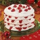 Raspberry-Filled Meringue Torte