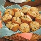 Banana Muffins with Mini Chocolate Chips