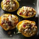 Turkey-Stuffed Acorn Squash