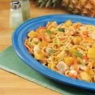 Pineapple Chicken Lo Mein