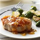 Pineapple-Dijon Pork Chops