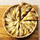 Chocolate Pear Hazelnut Tart