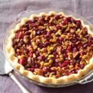 Cranberry Double-Nut Pie