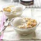 Apple Pie Oatmeal Dessert