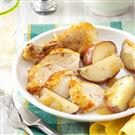 Peppery Chicken with Potatoes
