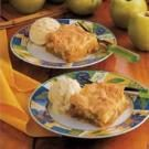 Cake-Topped Apple Cobbler