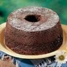 Chocolate Chiffon Cake Ring