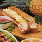 Hot Ham and Pineapple Sub