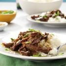 Slow Cooker Garlic-Sesame Beef