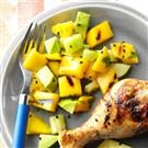 Grilled Mango & Avocado Salad