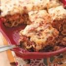Cheesy Shell Lasagna