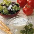 Buttermilk Basil Salad Dressing