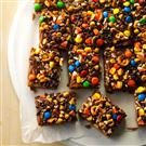 Crazy Halloween Blondies