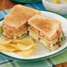 Triple-Decker Salmon Club