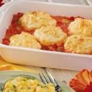 Biscuit-Topped Tomato Casserole