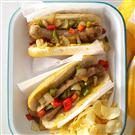 Sausage & Pepper Sandwiches