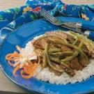 Stir-Fried Beef 'n' Beans