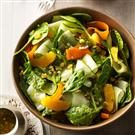 Ribbon Salad with Orange Vinaigrette