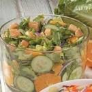 Orange Cucumber Tossed Salad