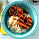 Grilled Honey Balsamic-Glazed Fruit