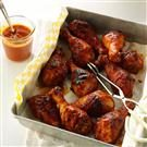Rhubarb-Apricot Barbecued Chicken