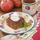 Spiced Apple Gingerbread