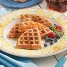 Pecan Wheat Waffles