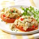 Crab-Topped Tomato Slices