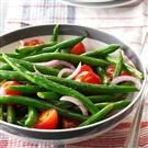 Green Bean-Cherry Tomato Salad