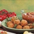 Rice Balls with Meat Sauce