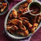 Slow Cooked Cranberry Hot Wings