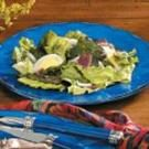 Wilted Lettuce Salad with Bacon Dressing