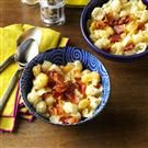 Slow Cooker Bacon Mac & Cheese