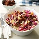 Apple & Cabbage Salad with Spicy Pecans
