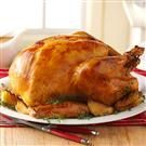 Herb-Brined Turkey with Garlic Pan Gravy