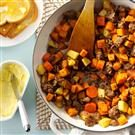 Hearty Sausage & Sweet Potatoes