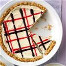 Red, White and Blueberry Ice Cream Pie with Granola Crust