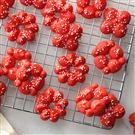 Red Velvet Spritz Cookies