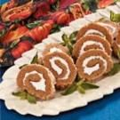 Walnut Pumpkin Cake Roll