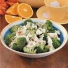 Broccoli With Orange Cream