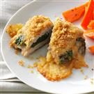 Spinach & Gouda-Stuffed Pork Cutlets