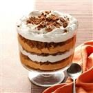 Pumpkin-Butterscotch Gingerbread Trifle