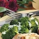 Broccoli with Mustard Sauce for Four