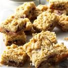 Sour Cream & Cranberry Bars